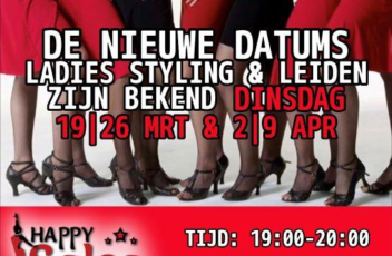 Flyer Cursus Ladies Styling en Leiden